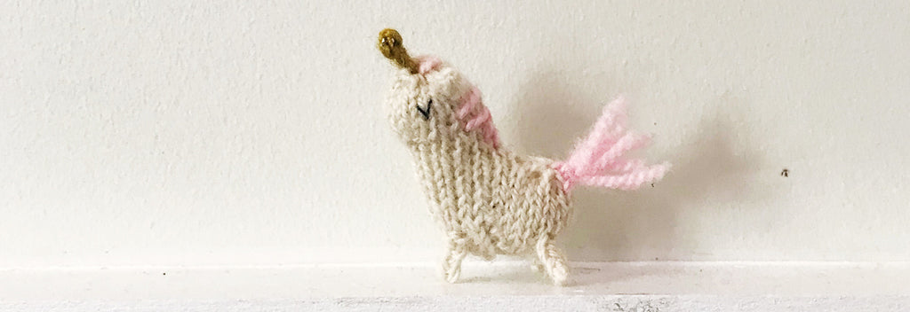 Moon the Unicorn FREE Knitting Pattern