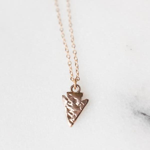 Arrowhead Charm Necklace