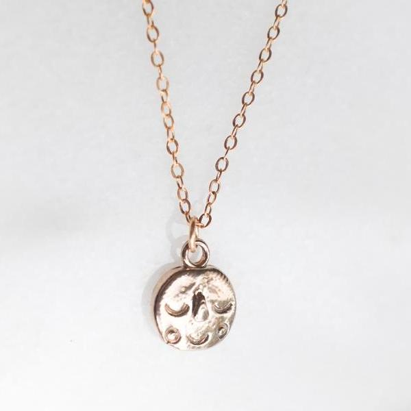 Face Charm Necklace