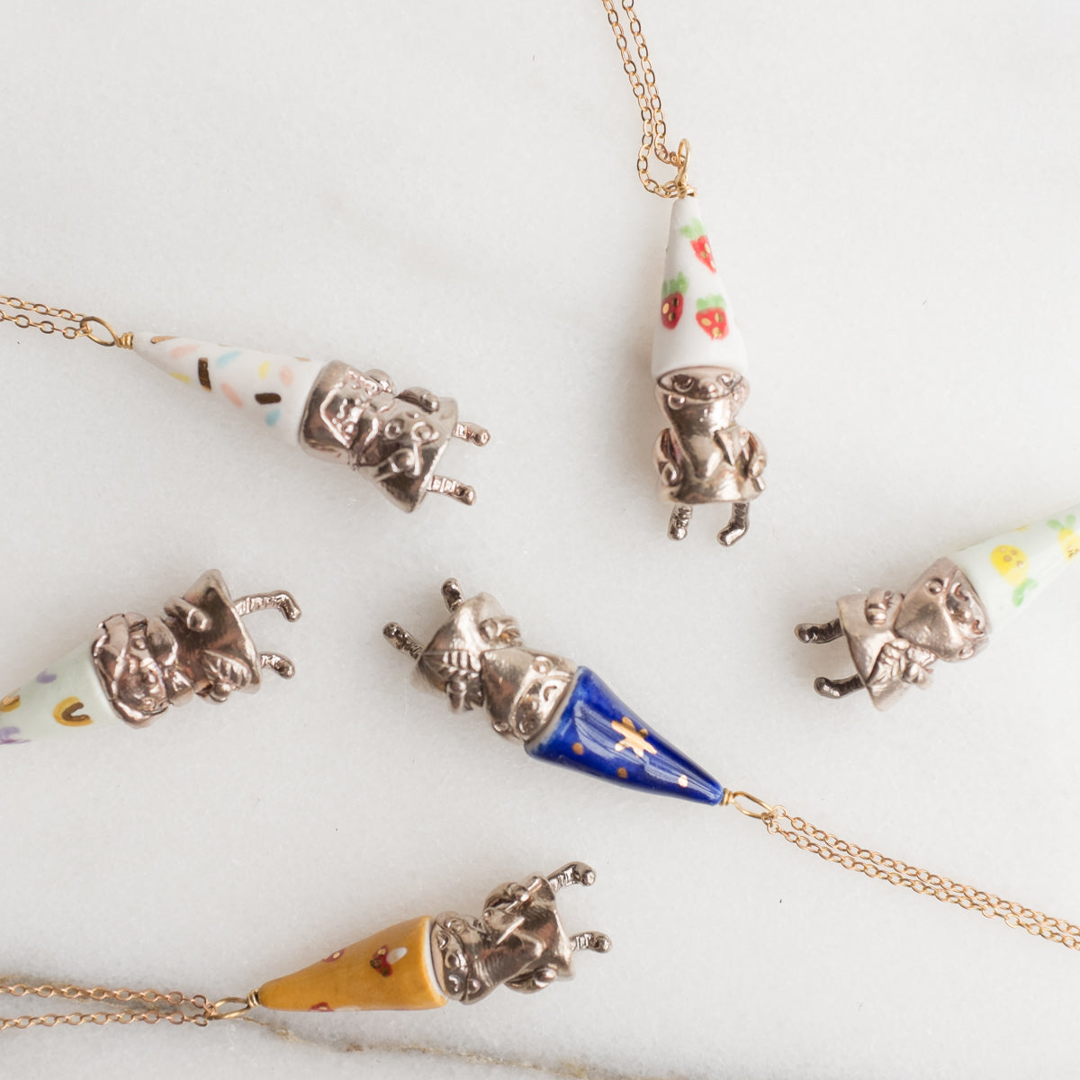 Gnome Necklace