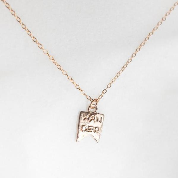 Wander Charm Necklace