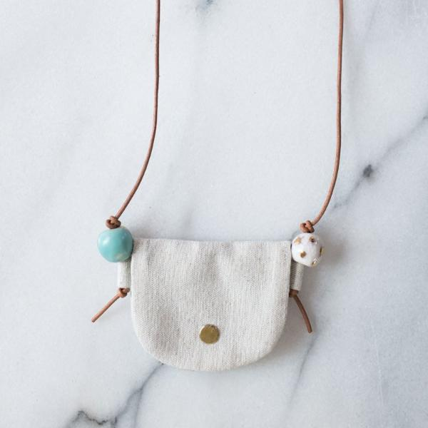 Pouch Necklace