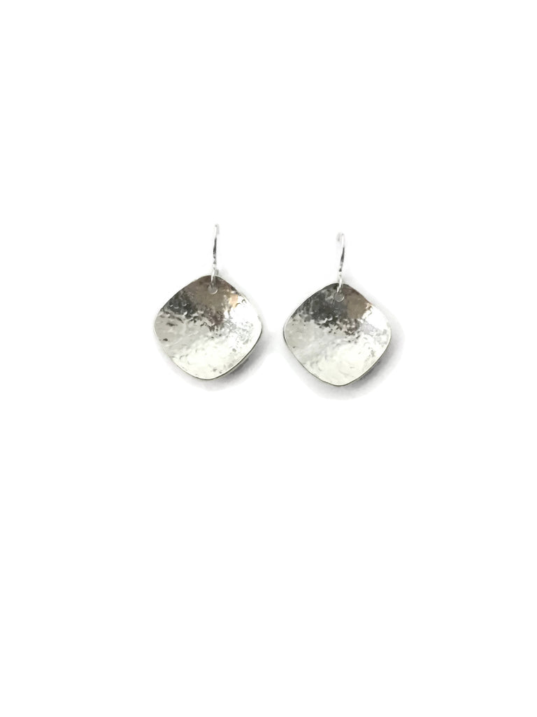 Silver Classics - Hammered Earrings