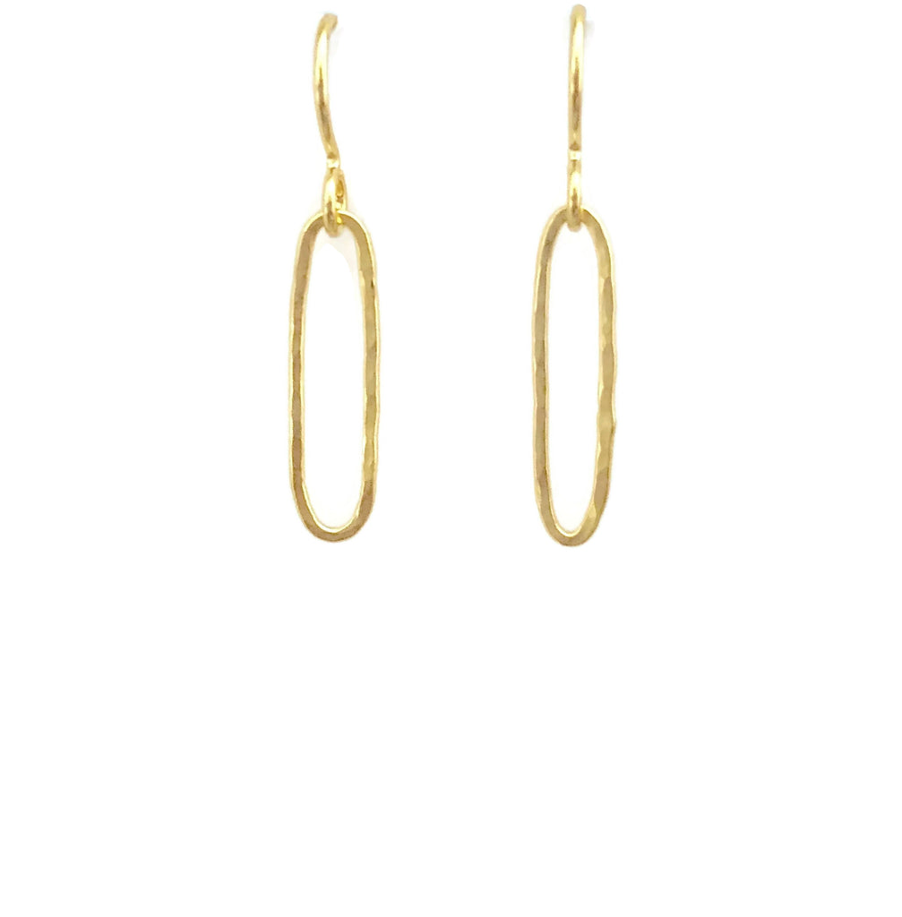 Elongated Earrings, Small