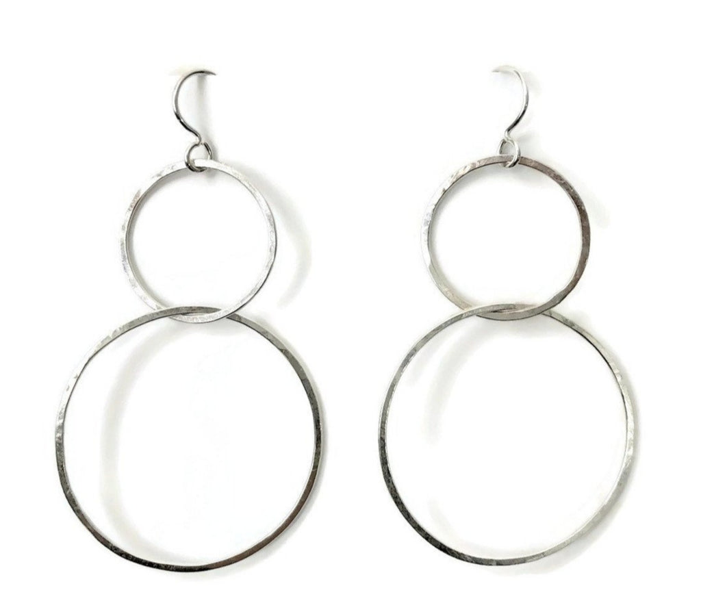Interlock Earrings, Medium