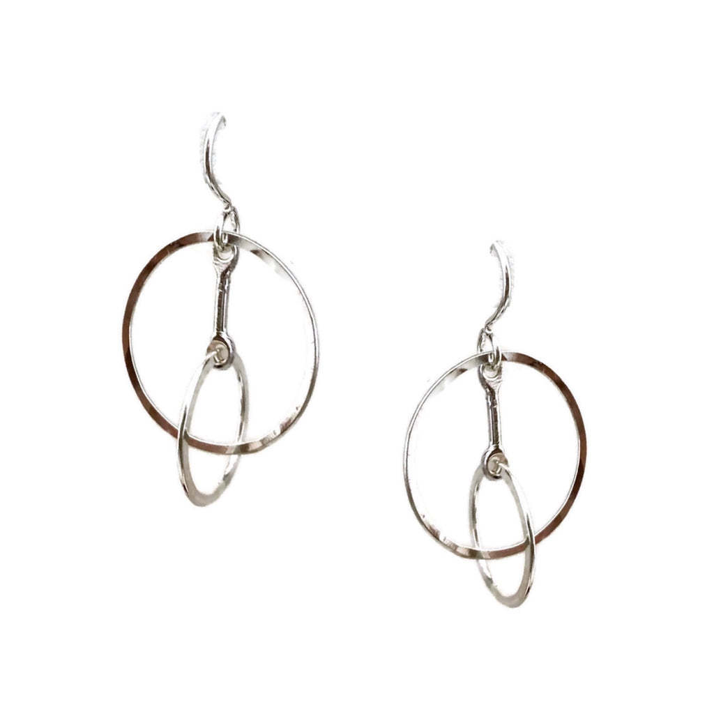 Axis Earrings, Small