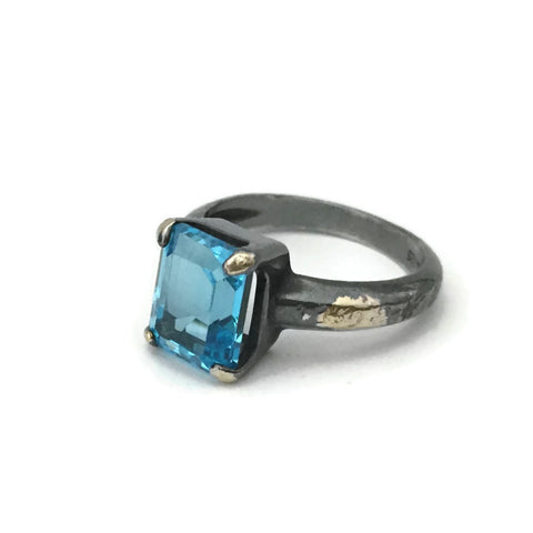 Emerald Cut Cocktail Ring - Choose Your Stone
