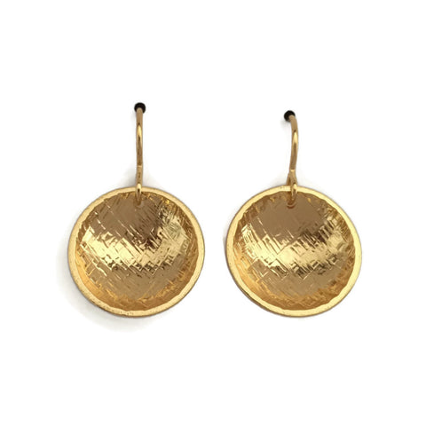 Concave Earrings - Hatch