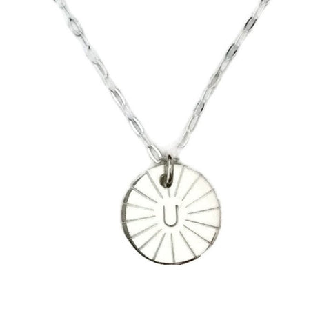 Silver Classics - Initial Necklace - Single
