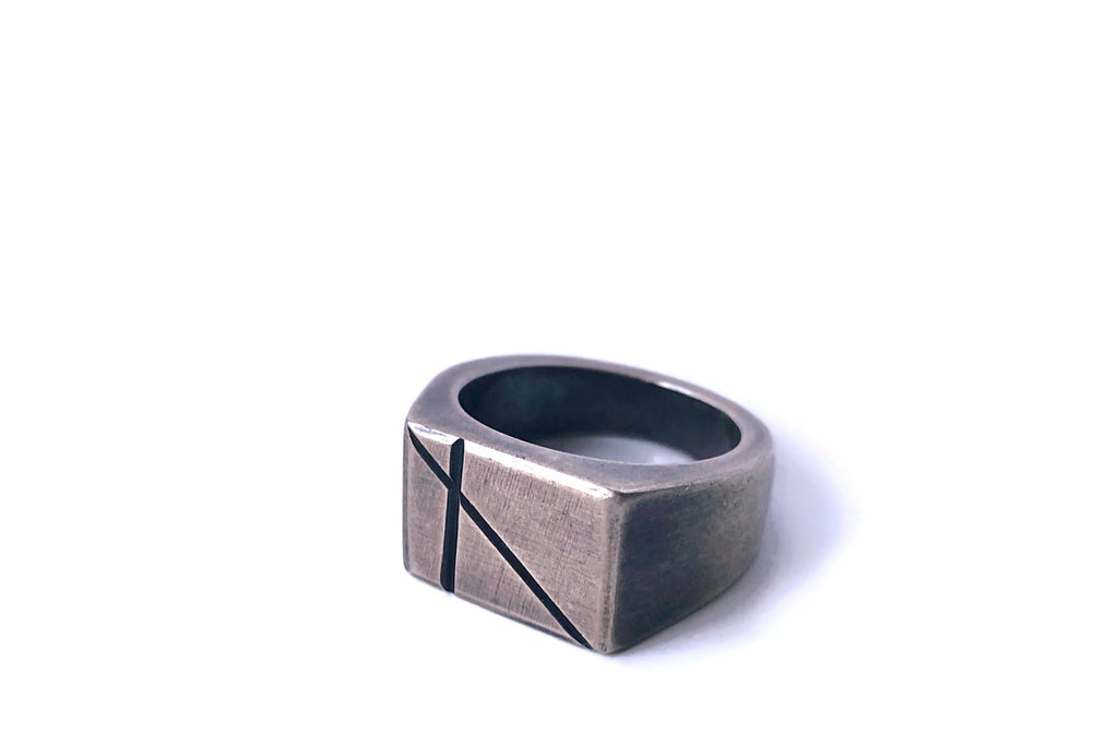 Engraved Signet Ring, Axis