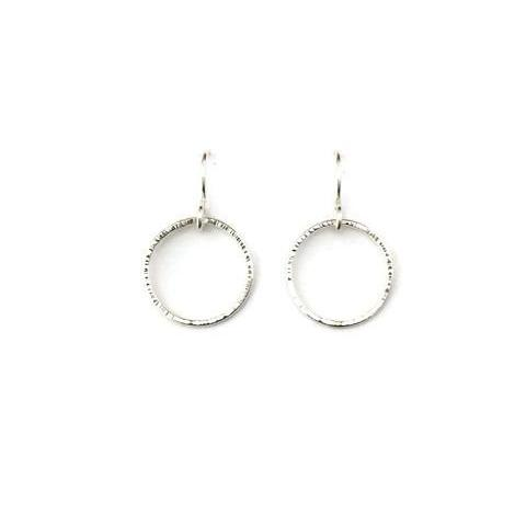 Silver Classics - Single Circle Earrings