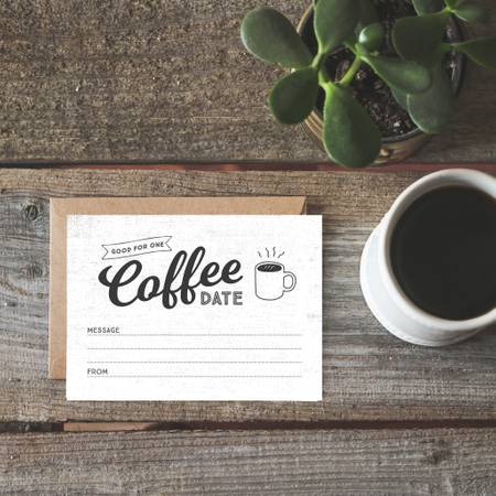 Coffee Date Card