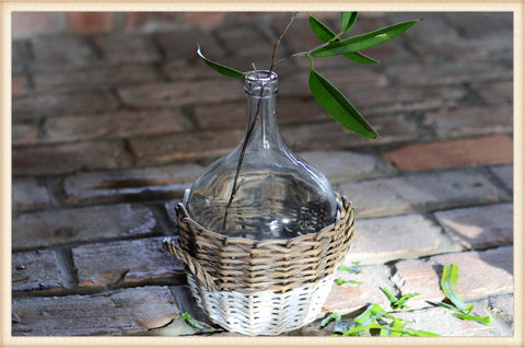 Euro Basket Bottle Vessel