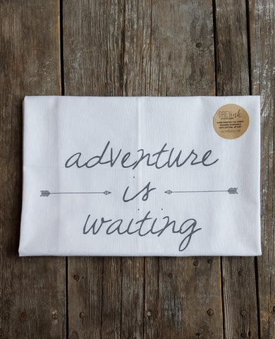 Adventure Is Waiting Tea Towel