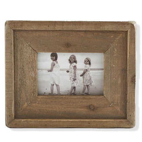 Weathered Wood Picture Frame