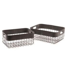 Metal Baker's Baskets