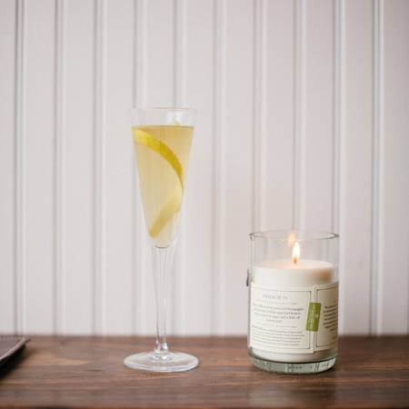 11 oz French 75 Blanc Candle