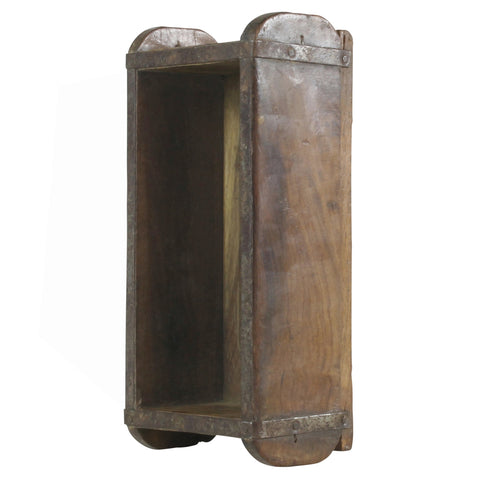 antique wood brick mold