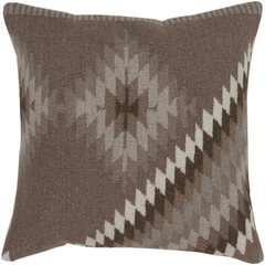Shades of Brown Kilim Pillow
