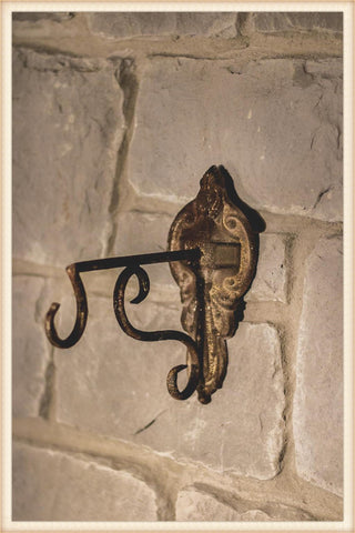 Rust Patina Wall Hook