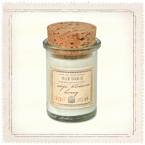 Sage Blossom and Honey 6 oz Field Jar Soy Candle