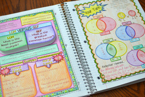 3 Ways that I use Math Interactive Notebooks in my Classroom
