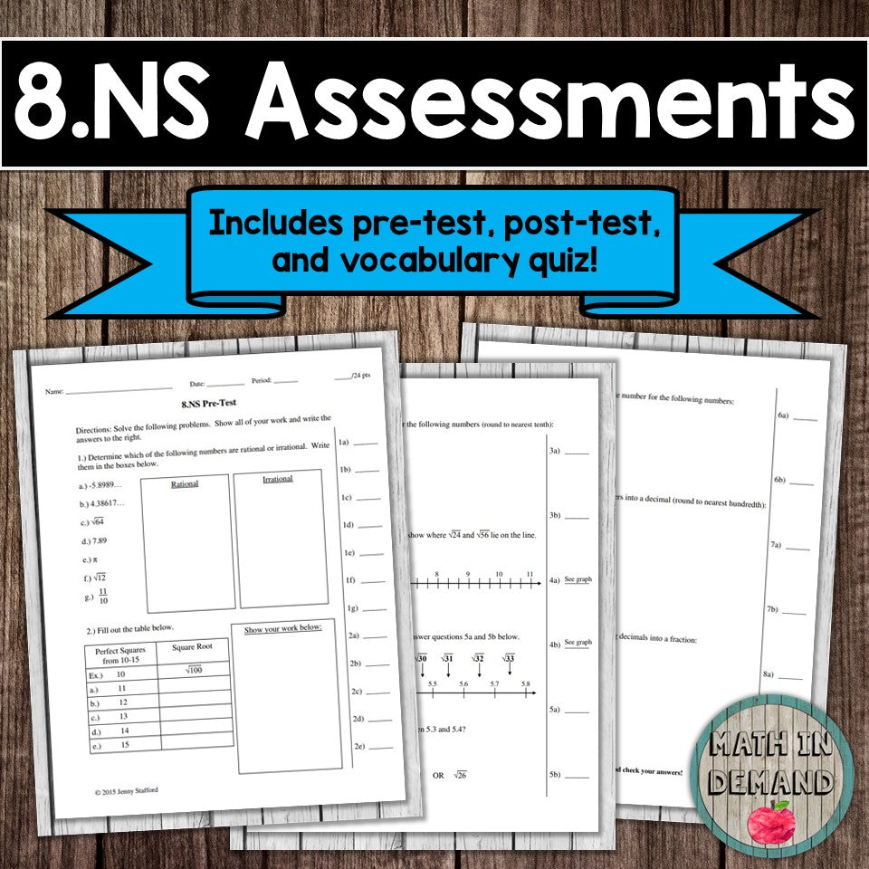 8.NS Assessment
