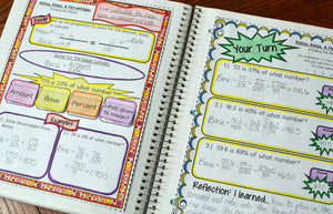 6th Grade Math Interactive Notebook