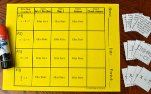Math Card Sort Activities Bundle