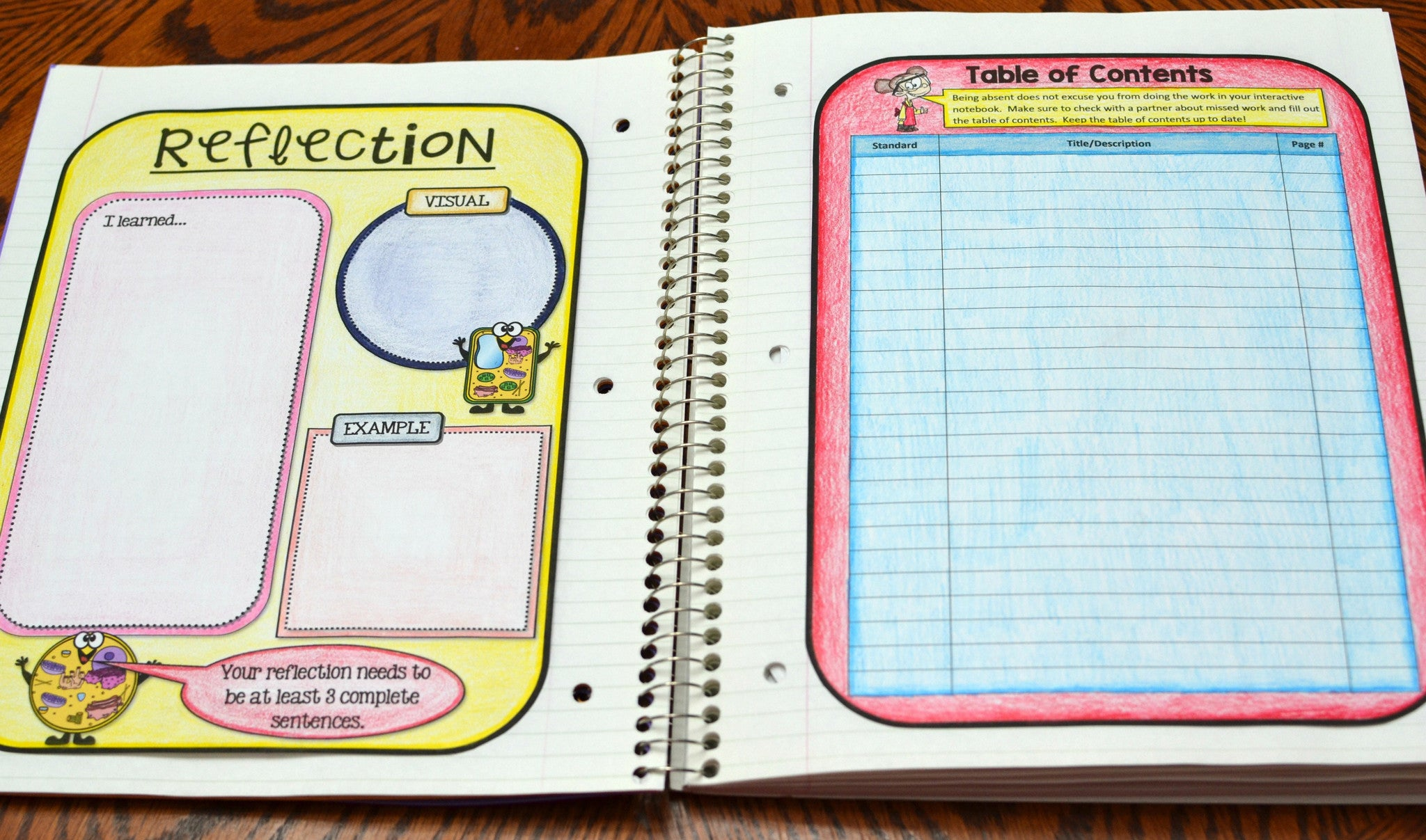Science Interactive Notebook - Cells - Math in Demand