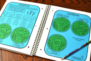 Math Cut and Paste Circular Activities Bundle
