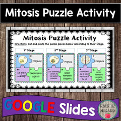 Mitosis Puzzle in Google Slides