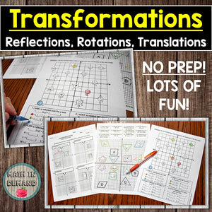 Transformation Activity (Capture the Dots!)