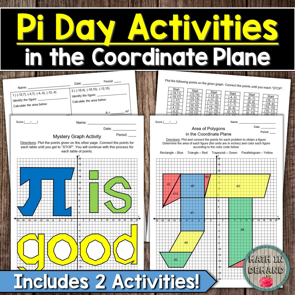 Pi Day Math Activities 3.14