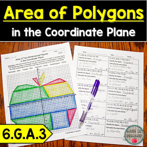 Area of Polygons in the Coordinate Plane