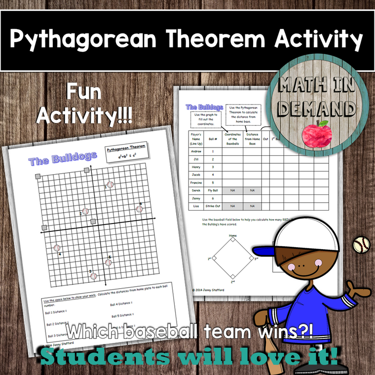 Pythagorean Theorem Baseball