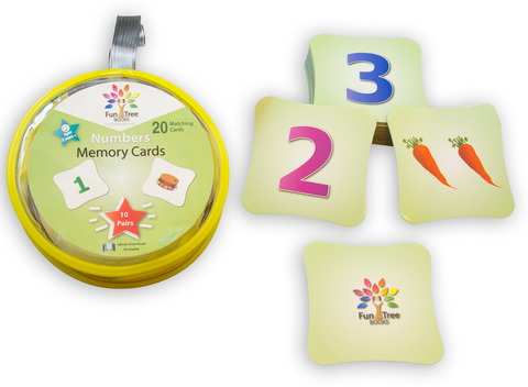 Numbers(123s) Game - Memory Cards Matching Game with eBook