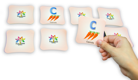 Alphabet (ABCs) Game - Memory Cards Matching Game with eBook