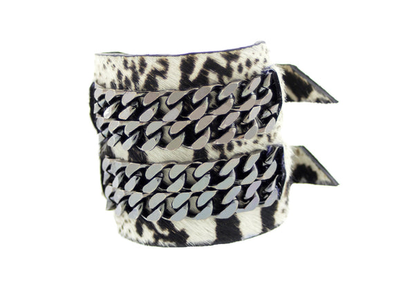 BARDOT - Leather Cuff Bracelet Bangle - Mister Fairbanks Jewelry