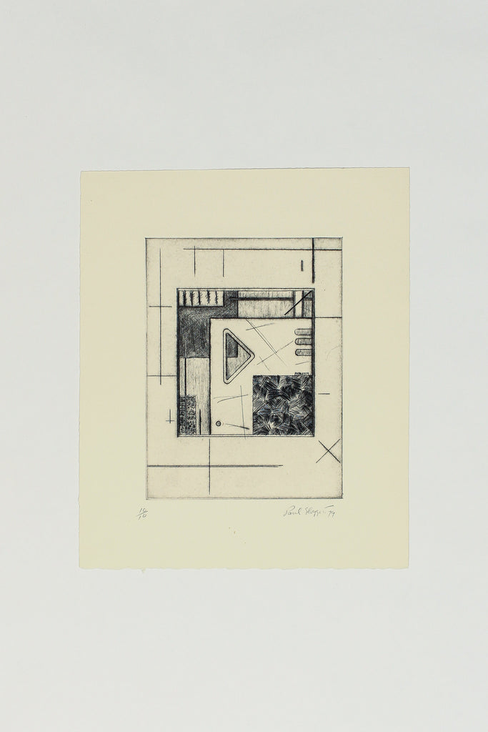Title: N/A (Etching) - Paul Sloggett