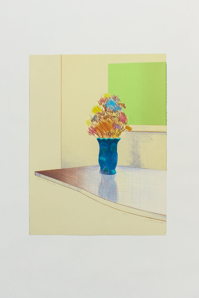 Borrowed Blue Vase - Carl Heywood