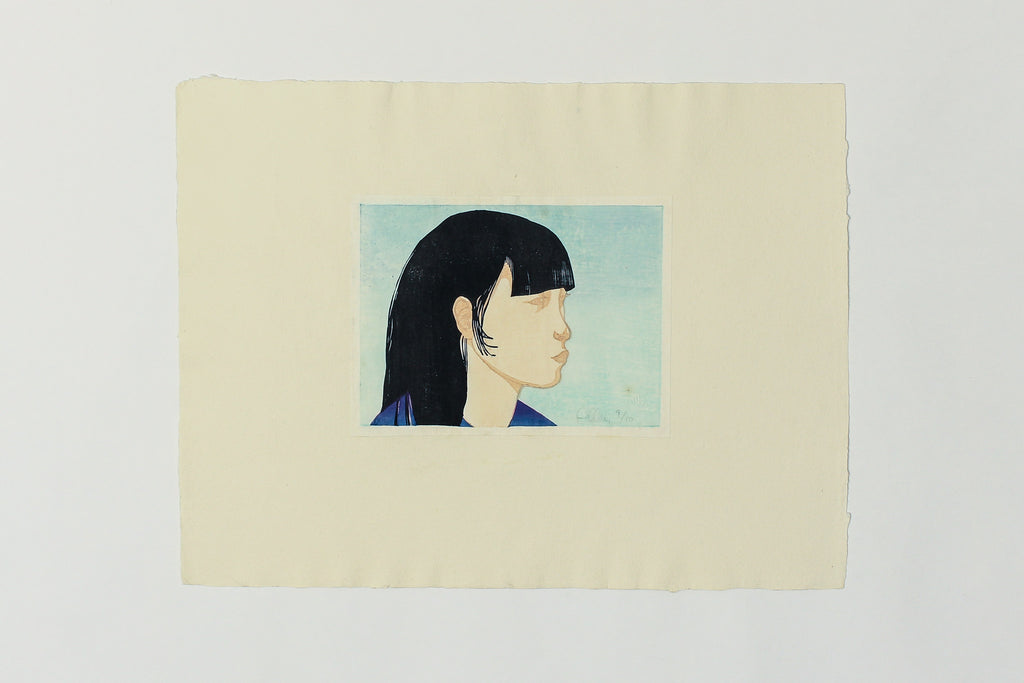Untitled (Profile of Girl) - Brian Kelley