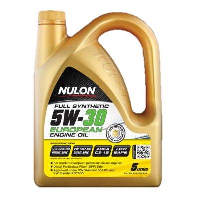 Nulon Full Synthetic Euro 5W30 Engine Oil - 5 Ltr-EURO5W30-5-Nulon-A1 Autoparts Niddrie