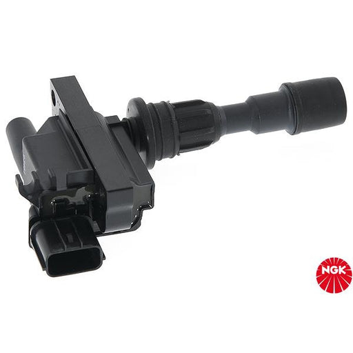 NGK Ignition Coil - U4015 - Ford Laser, Mazda 323 1.6L ZM Engine-U4015-NGK-A1 Autoparts Niddrie
