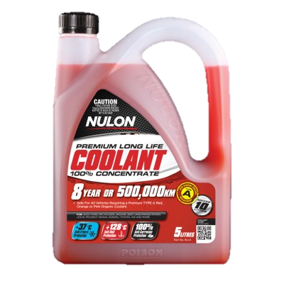 Nulon Red Long Life Concentrated Coolant - 5Ltr - RLL5
