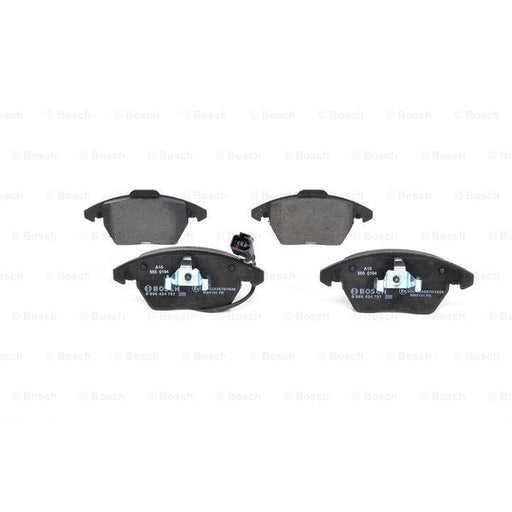 Bosch Disc Brake Pad Set - Audi, Skoda, VW - BP938