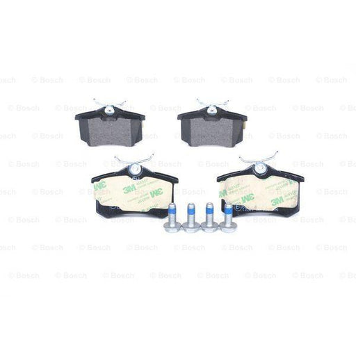 Bosch Disc Brake Pad Set - Audi, Citroen, Peugeot, Seat, Skoda, VW - BP617