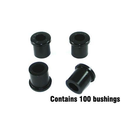 Whiteline Bush Kit-Spring Eye &  Sh - Bulk - W71041/100 - A1 Autoparts Niddrie