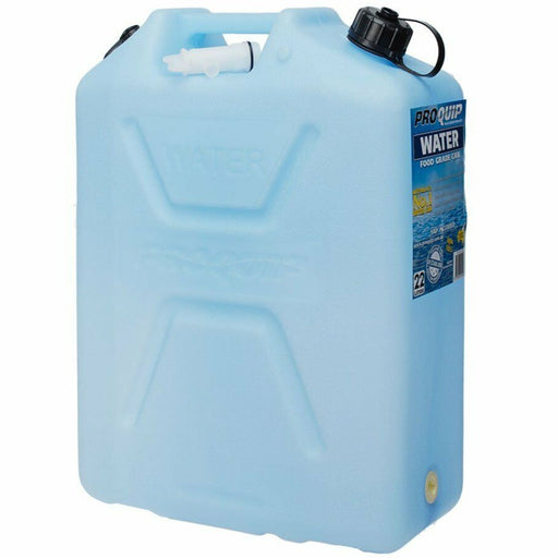 22 Litre Blue Plastic Water Jerry Can - 1025