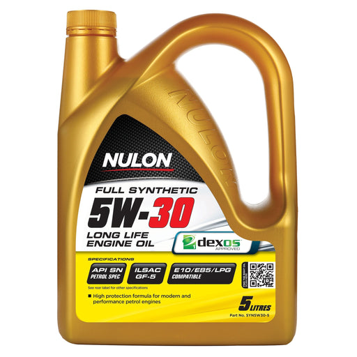 Nulon Full Synthetic 5W30 Long Life Engine Oil - 5Ltr - A1 Autoparts Niddrie